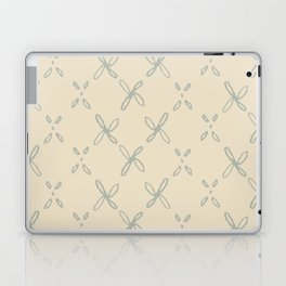 Abstract Astral Pattern in Yellow & Green Laptop & iPad Skin