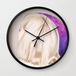Head in the Stars Wall Clock