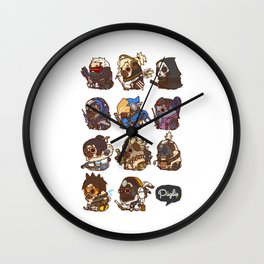 Pugliewatch Collection 1 Wall Clock