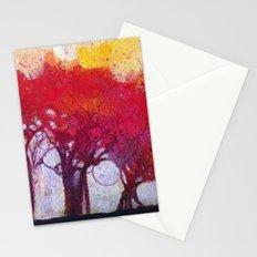 Alberi nel bosco Stationery Cards
