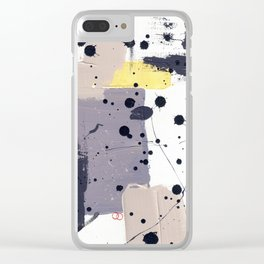 Purple Mattress Clear iPhone Case