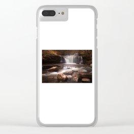 Blaen y Glyn Waterfalls Clear iPhone Case