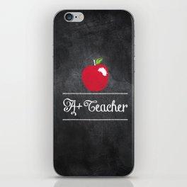 A+ Teacher iPhone Skin