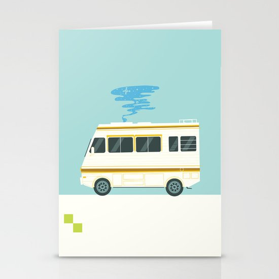 A Badly Broken RV Stationery Cards