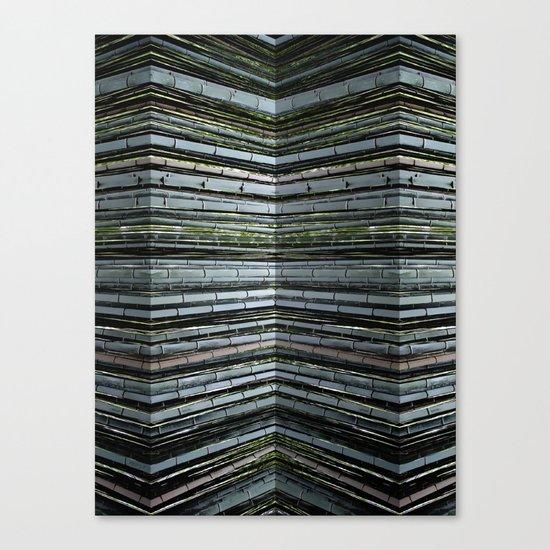 Bending Bamboo Canvas Print