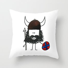 Norsk Viking Throw Pillow