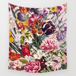 Exotic Garden - Summer Wall Tapestry
