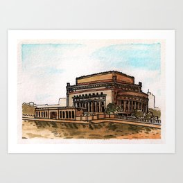 Philippines : Manila Central Post Office Art Print