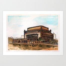 Philippines : Manila Central Post Office Art Print