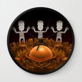 Rockman #2 Wall Clock