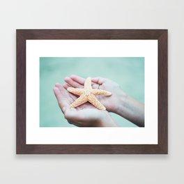 Starfish Framed Art Print