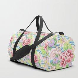 Pastel Kimono Bouquet Duffle Bag