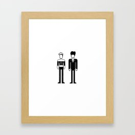 Roxette Framed Art Print