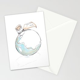 Alice Alphabet C Stationery Cards