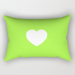 Lovely Lime Rectangular Pillow
