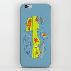 The Mystery Machine iPhone & iPod Skin
