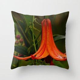 Wild Lily Love Throw Pillow