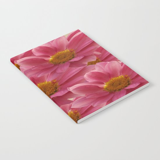Pink Floral Bouquet Notebook
