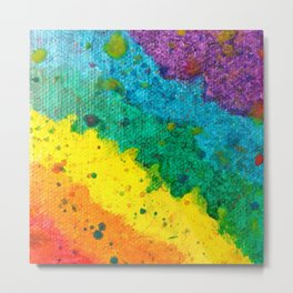 Rainbow Abstract #16 Metal Print