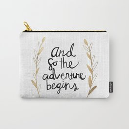 The Adventure Begins Carry-All Pouch