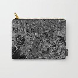 Santiago Black Map Carry-All Pouch