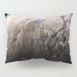 Planet Jupiter Deep Space Probe Telescopic Photograph No. 3 Pillow Sham
