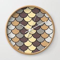 Caffeine Tones Wall Clock