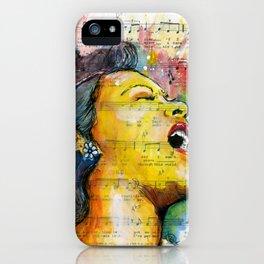 Billie's Blues  iPhone Case