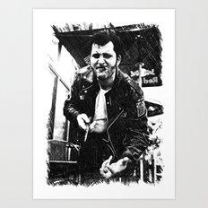 Greaser Johnny Art Print