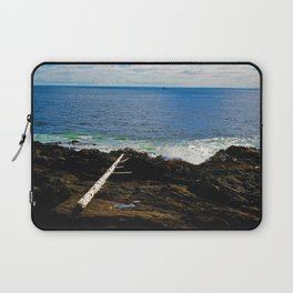 The Pacific Ocean as seen from the Wild Pacific Trail on Ucluelet, BC Laptop Sleeve