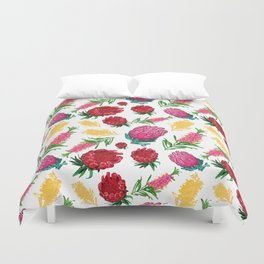 Beautiful Australian Native Floral Pattern Duvet Cover