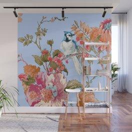 Blue Blue Jay Wall Mural