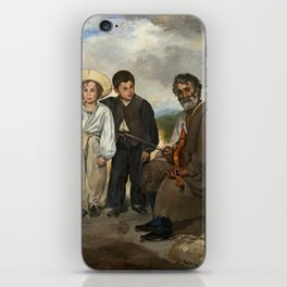 Edouard Manet The Old Musician 1862 Painting iPhone Skin