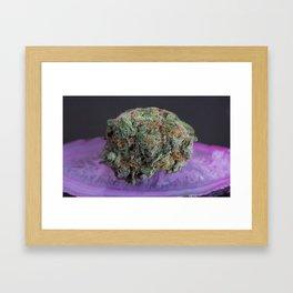 Grape Ape Medicinal Medical Marijuana Framed Art Print