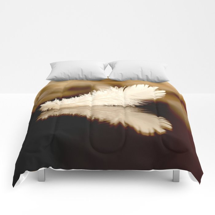 Feather Reflection Comforters