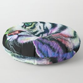 Rainbow Tiger Floor Pillow