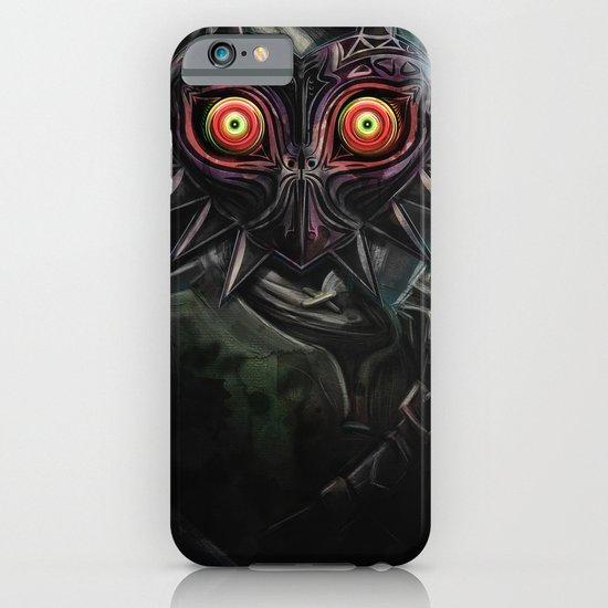 Legend of Zelda Majora's Mask Link iPhone & iPod Case