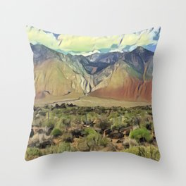 Sierra Nevada II Throw Pillow