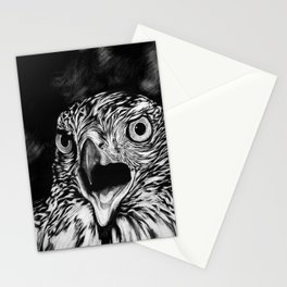 Fierce Falcon Stationery Cards