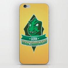 Gorn Rockthrowers iPhone & iPod Skin
