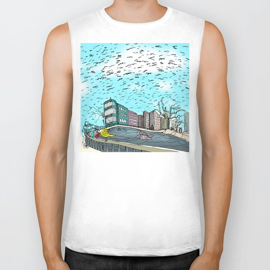 Love in the Afternoon Biker Tank