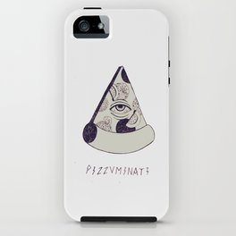 P I Z Z V M I N A T I iPhone Case