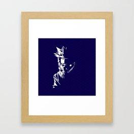 Monster Nine Tails Framed Art Print