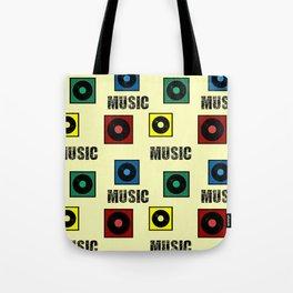 Music design Tote Bag