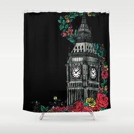 Big Ben Clock Tower Shower Curtain