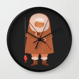 Eskimo2 Wall Clock