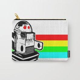 Robo Rainbow Carry-All Pouch