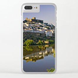 Mertola at dusk, Portugal Clear iPhone Case