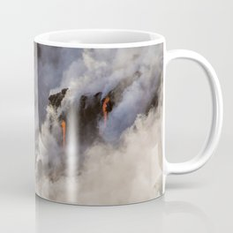 WATER MEETS LAVA Coffee Mug