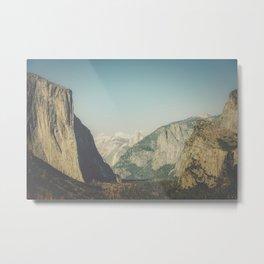 Yosemite Valley VIII Metal Print